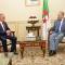 رئيس مجلس الأمة بالنيابة يستقبل سعادة السفير الجديد لدولة فلسطين بالجزائر