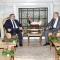 رئيس مجلس الأمة بالنيابة يستقبل رئيس المجلس الأعلى بليبيا