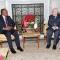 رئيس مجلس الامة يستقبل وزير الشؤون الخارجية الانغولي