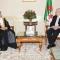 السيد عبد القادر بن صالح يستقبل  سفير دولة الإمارات العربية المتحدة