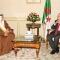 استقبل السيد عبد القادر بن صالح ، رئيس مجلس الأمة اليوم الاثنين 30 أكتوبر 2017، بمقر المجلس،             السيد حامد محمد العصفور