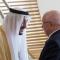 إستقبالات السيد عبد القادر بن صالح في القمة العربية بالظهران