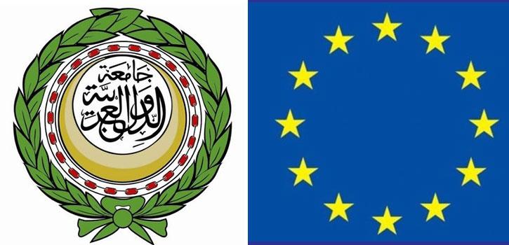لقاءات و محادثات رئيس مجلس الأمة على هامش القمة الأولى العربية الأوروبية