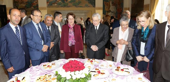 رئيس مجلس الأمة يشرف على الإحتفال باليوم العالمي للمرأة