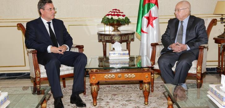 رئيـس مجلـس الأُمّـة يستقبـل سفير جمهوريّـة التـّـشيك بالجزائر