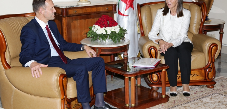 رئيسة لجنة الخارجية بمجلس الأمة تستقبل المدير العام للعلاقات الثنائية بوزارة الخارجية لجمهورية بلغاريا
