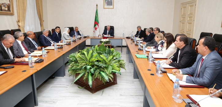 اجتماع مكتب مجلس الأمة وهيئة التنسيق للمجلس ستئناف الجلسات ابتداءا من يوم 04 اكتوبر الجاري