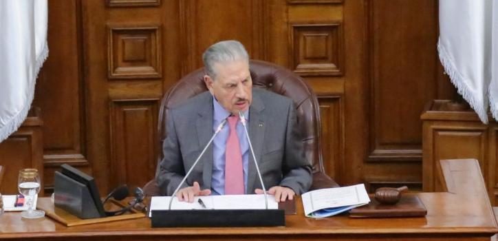 نص كلمة السيد صالح قوجيل في ختام جلسة إختتام مناقشة مخطط عمل الحكومة