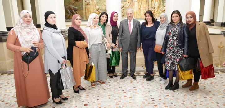رئيس مجلس الأمة بالنيابة يشرف على الإحتفال باليوم العالمي للمرأة