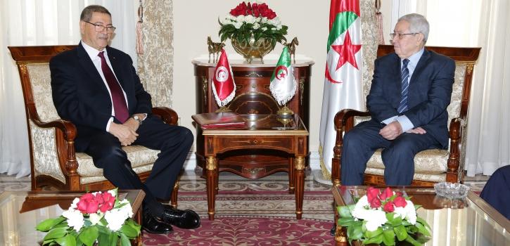 رئيـس مـجلــس الأُمّـة يستقبـل الـمبعوث الـخـاص لدى سيادة رئيس الجمهورية التونسية