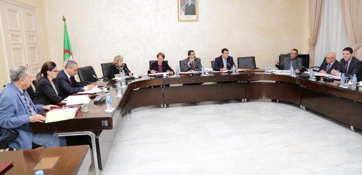 إجتماع لجنة الشؤون القانونية والإدارية وحقوق الإنسان الموسعة لمجلس الأمة