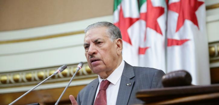 كلمة رئيس مجلس الأمة بالنيابة في مراسيم إختتام الدورة البرلمانية العادية 2019/2018