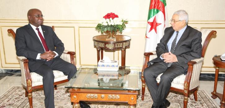 رئيـس مجــلــس الأمّـة يستـقبـل السّفير الجديد لجمـهـوريـّة  المـوزمبيـق بالجزائر