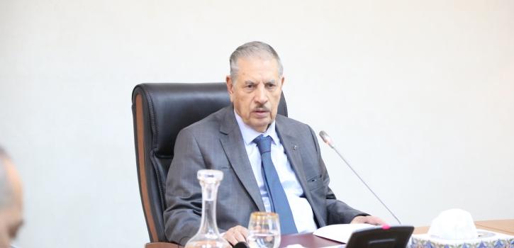 اجتماع مكتب مجلس الأمة  الموسع لرؤساء المجموعات البرلمانية والمراقب البرلماني