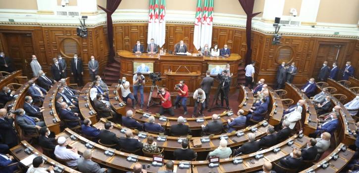 مجلس الأمة يختتم دورته البرلمانية العادية 2020 - 2021