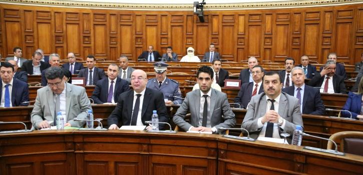 أعضاء مجلس الأمة يصادقون على ثلاثة مشاريع قوانين