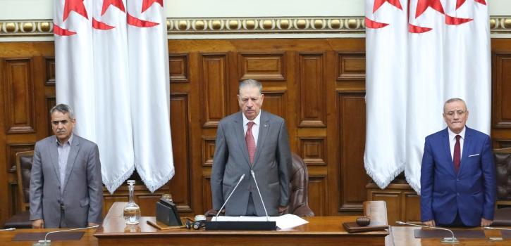 مجلس الأمة يختتم دورته البرلمانية العادية 2018-2019