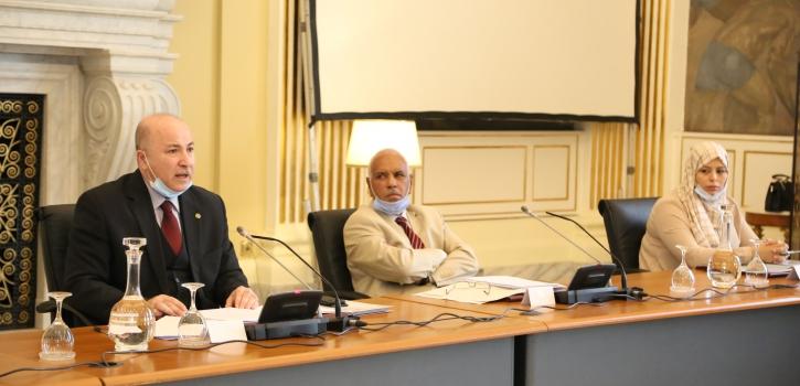 لجنة الشؤون الإقتصادية و المالية تستمع للسيد وزير المالية حول قانون تسوية ميزانية 2017