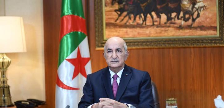 خطاب رئيس الجمهورية السيد عبد المجيد تبون للأمة
