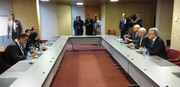 مباحثات رئيس مجلس الأمة، السيد عبد القادر بن صالح على هامش أشغال الجمعية العامة 139  للإتحاد البرلماني الدولي