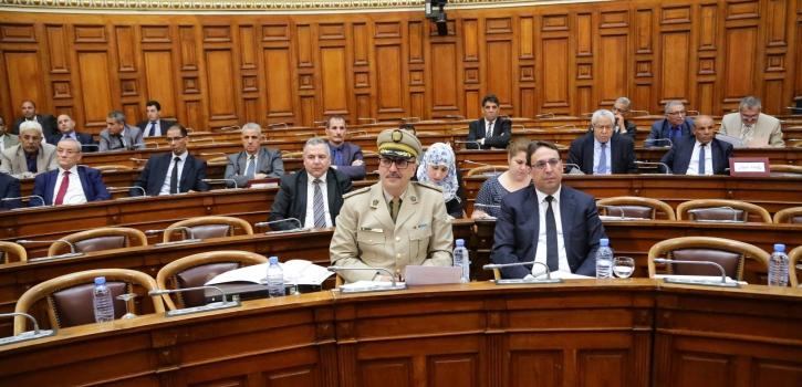 أعضاء مجلس الأمة يناقشون مشروع القانون الذي يُعدِّل ويُتمِّم الأمر رقم 71-28 المتضمِّن قانون القضاء العسكري