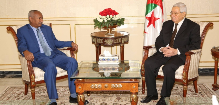 رئيـس مجــلــس الأمّـة يستـقبـل السّفير الجديد لجمـهـوريـّة السـودان بالجزائر