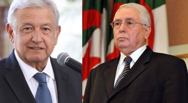 محادثات رئيس مجلس الأمّة على هامش مراسم تنصيب  الرّئيس المكسيكيّ الجديد