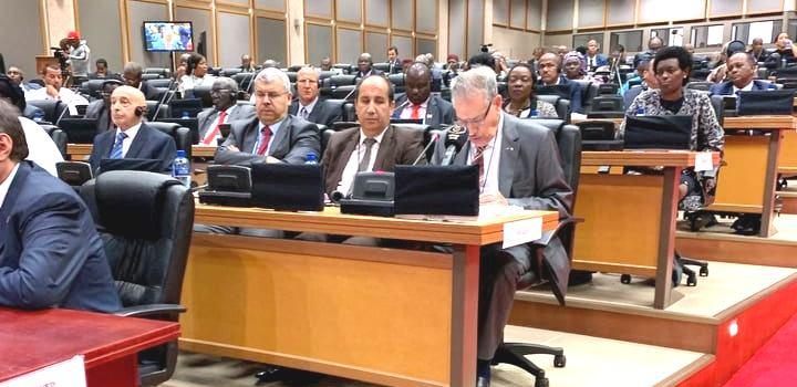 كلمة رئيس مجلس الأمة بالنيابة في أشغال المؤتمر السنوي العاشر لرؤساء البرلمانات الإفريقية