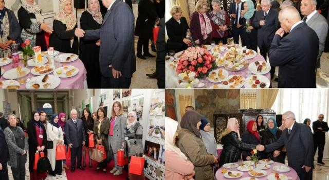 رئيس مجلس الامة يشرف على احتفال العيد العالمي للمراة