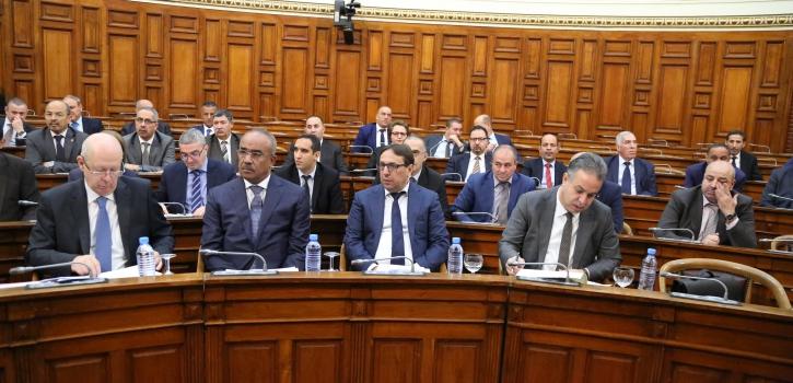 وزراء الداخلية؛ المالية والسكن يردون على اسئلة اعضاء  المجلس