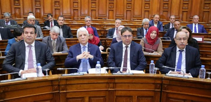 أعضاء مجلس الأمة يُصادقون على خمسة (5) مشاريع قوانين تتعلّق بالعدالة والتجارة والتكوين المهني