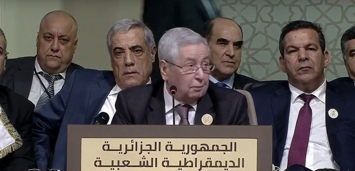 كلمة السيد رئيس مجلس الأمة في إفتتاح القمة العربية التنموية الإقتصادية و الإجتماعية ببيروت